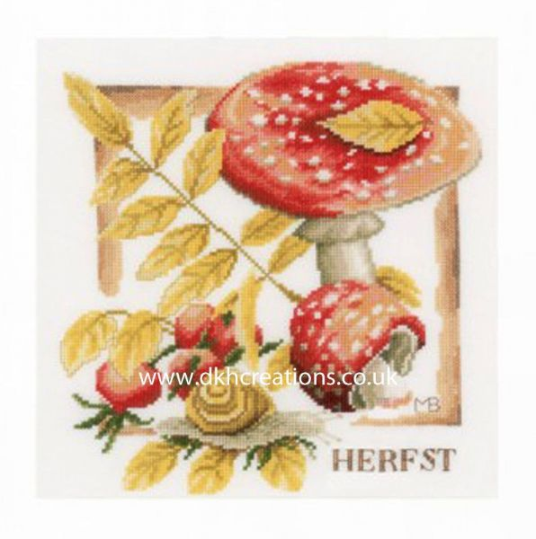 Autumn Cross Stitch Kit